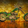 Green Chopper by Debra and Dave Vanderlaan