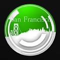 Green Circular San Francisco Skyline by Alberto RuiZ