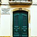 Green Door 6 by Rick Bragan