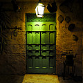Green Door by David Lee Thompson