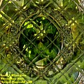 Green Emerald And White Diamond Brooch Distortion Aa H A by Gert J Rheeders