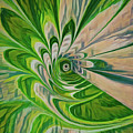 Green Energy Spin by Patti Schulze