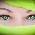 Green-eyed Girl by TK Goforth