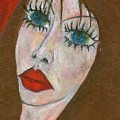Green Eyed II  by Wojtek Kowalski