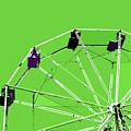 Green Ferris Wheel by Glennis Siverson