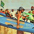 Green Flag Ready by Alice Gipson