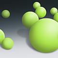 Green Globules by Dean Pratali
