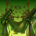 Green Insects  by Melissa Messick