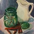 Green Jar by Marilyn Smith