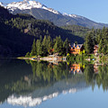 Green Lake Whistler  by Pierre Leclerc Photography