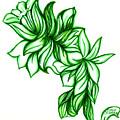 Green Leaves by Judith Herbert