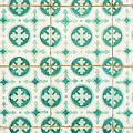 Green Lucky Charm Lisbon Tiles by For Ninety One Days
