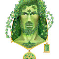 Ivy Green Man by Melissa A Benson