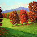 Green Mountain Autumn by Frank Wilson