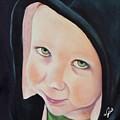Green Munchkin by Joni McPherson