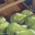 Green Pears by Lewis Bowman
