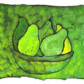 Green Pears by Wayne Potrafka