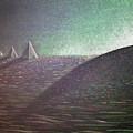 Green Pyramid B by Mayhem Mediums
