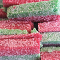 Green Red Sugary Sweet by Robert Banach