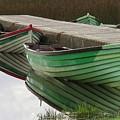 Green Reflection by Maryellen Feeney