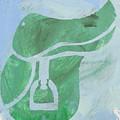 Green Saddle by Candace Shrope