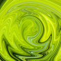 Green Swirl by Nielda Sanford