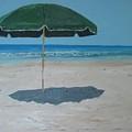 Green Umbrella by John Terry