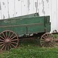 Green Wagon by Lauri Novak
