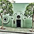 Green Wall by Julie Gebhardt