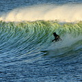 Green Wall Surfer by Mike Coverdale