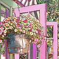 Greenhouse Doors by Nadi Spencer