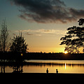 Greenlake Evening by Mike Reid