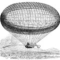 Greens Balloon, 1857 by Granger