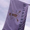 Greenwich Flag by Sue Schwer