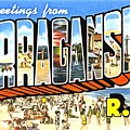 Greetings From Narragansett Rhode Island by Vintage Collections Cites and States
