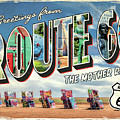 Greetings From Route 66 by Christopher Arndt