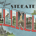 Greetings From Streater Illinois by Colleen Cornelius