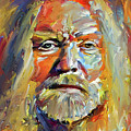 Greg  Allman Tribute Portrait by Yury Malkov
