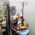 Gretel-k In The Fog - Lyme Regis by Susie Peek