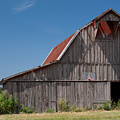Grey Barn by Douglas Barnett