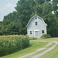 Grey Farmhouse - Northern Neck by Paul Childress