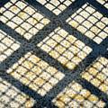 Grid Shadow On Concrete by Jozef Jankola