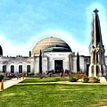 Griffith Observatory, Los Angeles, California by Robert Butler