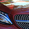 Grille  And Headlight  by Bill Ryan