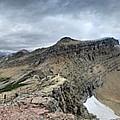 Grinnell Glacier Overlook Panorama - Glacier National Park by Bruce Lemons