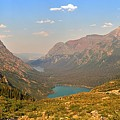 Grinnell Glacier Trail Panorama by Adam Jewell