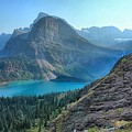 Grinnell Lake - Many Glacier by Adam Jewell