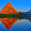 Grinnell Point Alpenglow Panorama by Greg Norrell