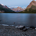 Grinnell Point Over Swiftcurrent Lake by Craig Tata