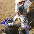 Gripping Bull Rider ... Montana Art Photo  by GiselaSchneider MontanaArtist